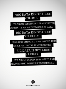 Big Data is not about 3Vs